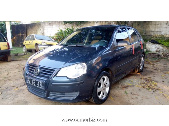 3,500000FCFA-VOLKSWAGEN POLO VERSION 2006-OCCASION D'ALLEMAGNE-FULL OPTION-NICKELLE - 3974