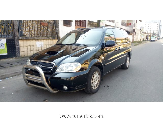 3,300,000FCFA-KIA CARNIVAL(Mini-van) VERSION 2004 OCCASION BELGIQUE A 7PLACES-DIESEL  - 3977