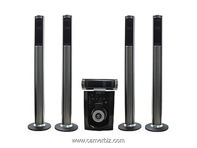 HOME CINEMA LEADER SP-572-BAFFLES-AMPLIFIES - 4053