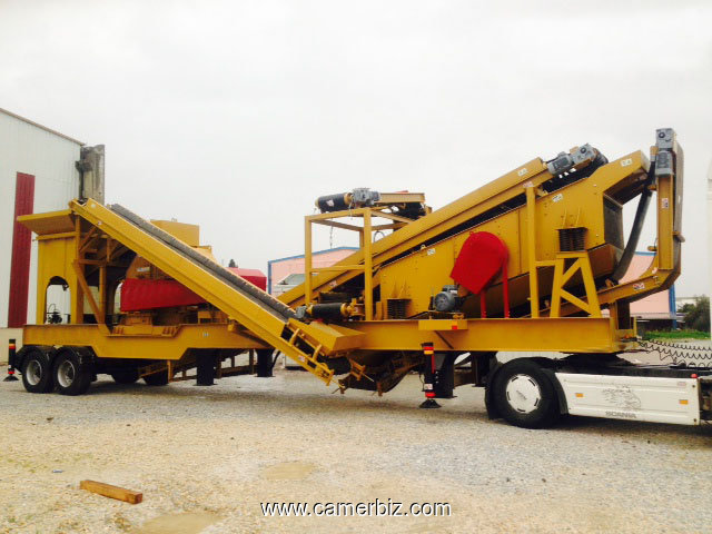 Mining Crushing And Screening Plant - 4054
