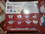 maha germany cookware 25 PCS - 4179