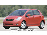 BESOIN D'UNE YARIS 2007 FULL OPTION VERSION EUROPEENNE