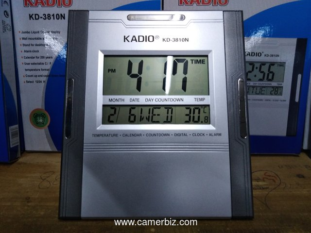 HORLOGE DIGITAL KD-3810N  Kadio - 4429