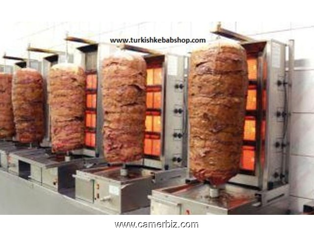 KEBAB DONER BUSINESS START UP TURKISH KEBAB MACHINES FOR SALE - 4465