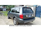 5,200,000FCFA-HONDA PILOT 4X4WD-VERSION 2005-OCCASION DU CANADA-8PLACES-FULL OPTION