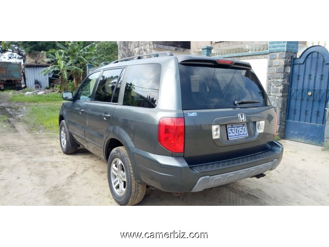 4,900,000FCFA-HONDA PILOT 4X4WD-VERSION 2005-OCCASION DU CANADA-8PLACES-FULL OPTION - 4579
