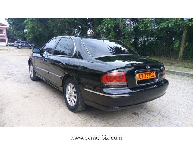 3,000,000FCFA-HYUNDAI SONATA-LIMITED-VERSION 2003-OCCASION DU CAMEROUN EN FULL OPTION - 4676