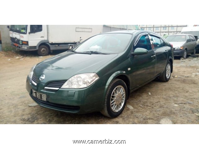 2,850,000FCFA-NISSAN PRIMERA VERSION 2004-OCCASION BELGIQUE - 4870