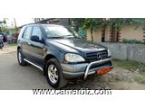 3,850,000FCFA-MERCEDES ML230-4X4WD-VERSION 2000-OCCASION EN 11CHEVEUX - 5077