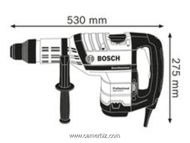 Perforateur SDS max Bosch GBH 8-45 D Professional - 5164