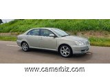 Belle 2006 TOYOTA AVENSIS Manuelle Full Option à vendre - 5257