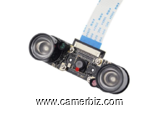 Camera pour raspberry pi 5 MP - OV5647 avec 2 Led IR
