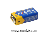 Pile d'alimentation 9Volts - 5400