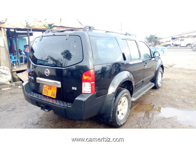 5,200,000FCFA-NISSAN PATHFINDER-4X4WD-2006-OCCASION FULL OPTION A 8PLACES - 5451