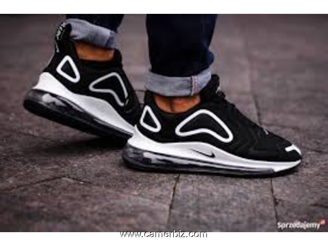 vente chaude en ligne acheter de nouveaux personnalisé Nike air max 720 noir vert olive