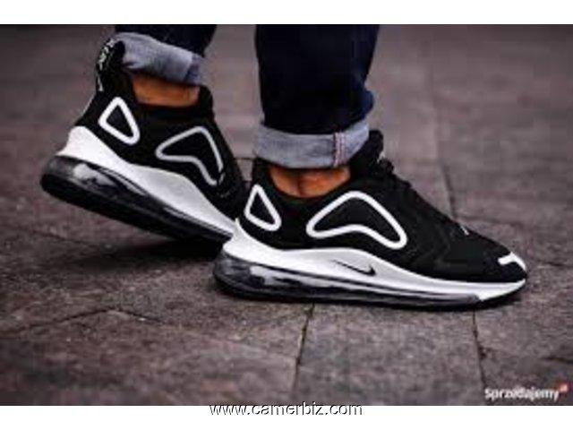 Nike air max 720 noir vert olive