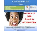 créattion de sites web professionnels au cameroun - 557