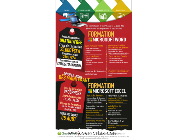 FORMATION INFORMATIQUE - 5632