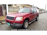 5,400,000FCFA-FORD EXPLORER  4X4WD-VERSION 2006-OCCASION DES ETATS UNIS-FULL OPTION