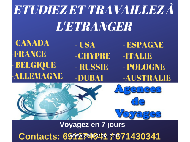 OPPORTUNITY TO TRAVEL FOR EUROPE IN 5 DAYS 200% garanted ENTER EUROPE IN LESS THAN 7 DAYS STUDY IN T - 5824