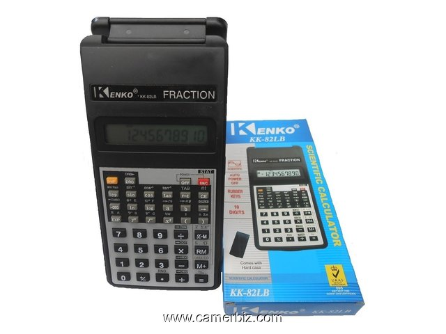 calculatrice scientifique KENKO KK-82LB - 5847