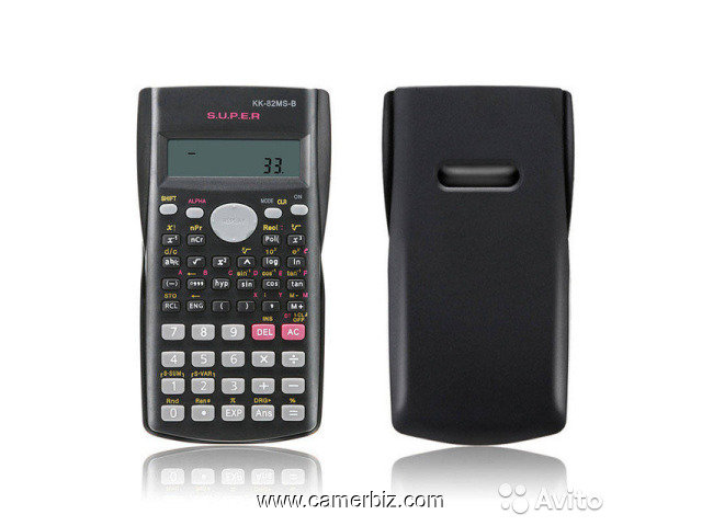 Calculatrice scientifique Kenko-kk-82ms-d-240 Fonctions + piles - 5849
