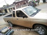 PICK-UP NISSAN FRONTIER ANNEE 2000, 4 CYL. 4X2, CLIM, 4 PLS, ESS, TRES SOLIDE AMERICAINE