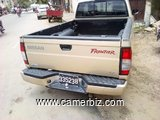 PICK-UP NISSAN FRONTIER ANNEE 2000, 4 CYL. 4X2, CLIM, 4 PLS, ESS, TRES SOLIDE AMERICAINE - 5948