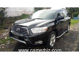 11,500,000FCFA-TOYOTA HIGHLANDER SPORT-LIMITED- 4X4WD-VERSION 2010-OCCASION EN OR- FULL OPTION