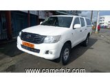 14,600,000FCFA-TOYOTA PICKUP HILUX -DOUBLE CABINE VERSION 2015-OCCASION EN OR