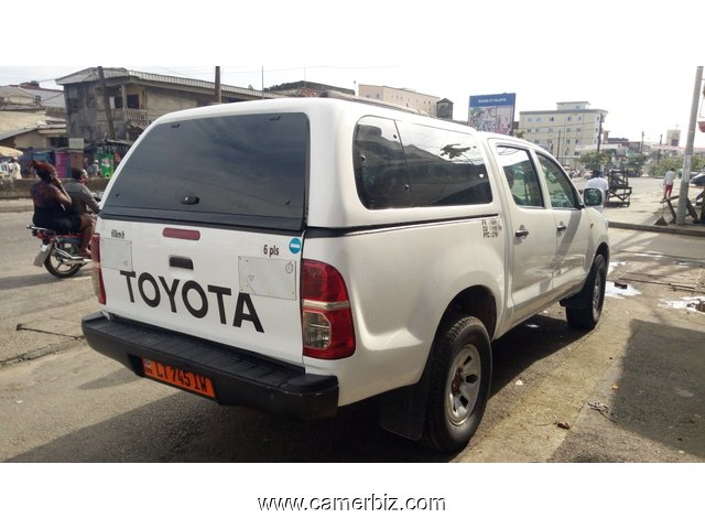 14,600,000FCFA-TOYOTA PICKUP HILUX -DOUBLE CABINE VERSION 2015-OCCASION EN OR - 6138