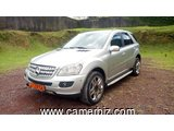 7,800,000FCFA-MERCEDES ML350 4MATIC 4X4WD VERSION  2008-OCCASION EN DIESEL