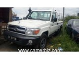 13,800,000FCFA-TOYOTA LANDCRUISER PICKUP TCHADIEN-4X4WD-VERSION 2013-OCCASION EN OR-PROPRE