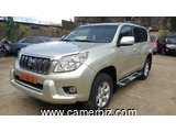 16,800,000FCFA-TOYOTA PRADO LANDCRUISER TXL-4X4WD- 2013-OCCASION EN OR-FULL OPTION
