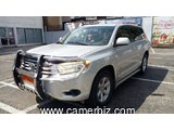 7,500,000FCFA-TOYOTA HIGHLANDER SPORT-LIMITED-4X4WD-VERSION 2008-OCCASION EN OR- FULL OPTION