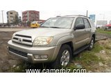4,900,000FCFA-TOYOTA 4RUNNER-LIMITED-VERSION 2005-OCCASION DU CAMEROUN