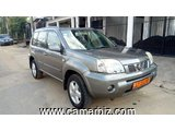 3,850,000FCFA  NISSAN XTRAIL-4X4WD VERSION 2008-OCCASION DU CAMEROUN-FULL OPTION
