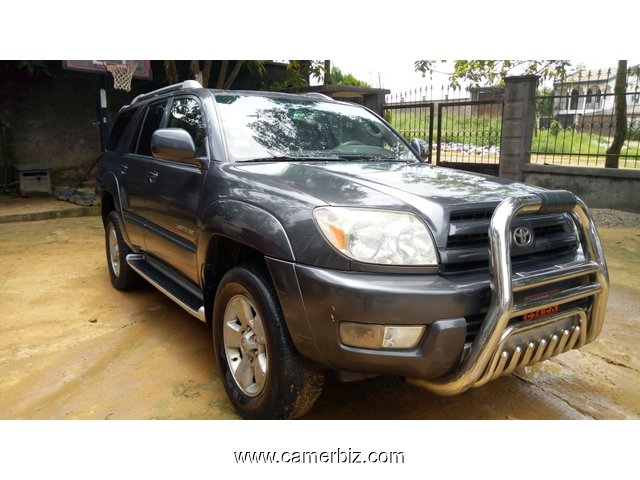 5,400,000FCFA-TOYOTA 4RUNNER-4X4WD-VERSION 2004-OCCASION DU CAMEROUN - 6419