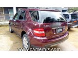 8,500,000FCFA-MERCEDES ML350 4MATIC-VERSION 2008-OCCASION-EN OR - 6442
