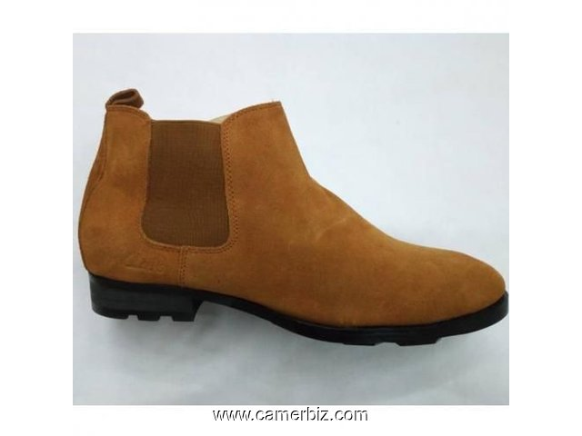 Bottines En Daim - Marron - 6681