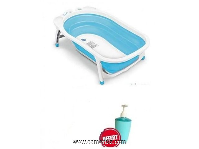 baignoire de bebe bouteille de savon liquide bleu et blanc layette equipement bebe douala cameroun camerbiz com