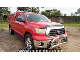 12,900,000FCFA-4X4WD PICKUP-TOYOTA TUNDRA 4X4WD  VERSION 2008-OCCASION EN OR-FULL OPTION