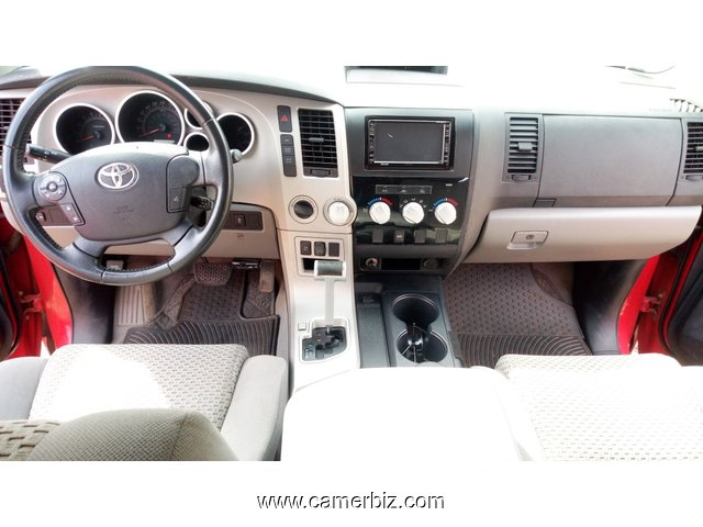 12,900,000FCFA-4X4WD PICKUP-TOYOTA TUNDRA 4X4WD  VERSION 2008-OCCASION EN OR-FULL OPTION - 7003