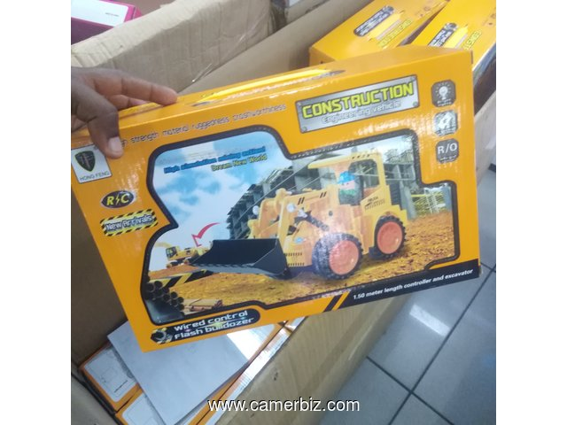 Jouet construction caterpillar  - 7187