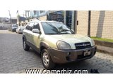 4,500,000FCFA-HYUNDAI TUCSON 4X4WD VERSION 2005-OCCASION BELGIQUE-FULL OPTION