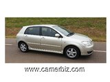 Belle 2007 Toyota Corolla 115 Full Option à vendre