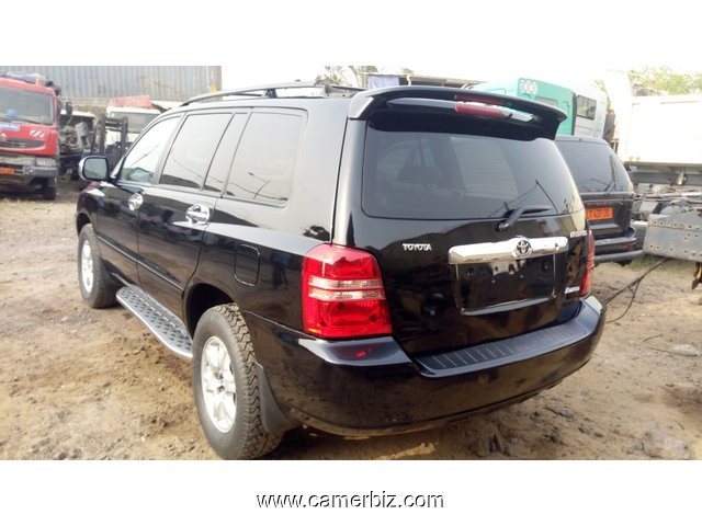 4,300,000FCFA-4X4WD-TOYOTA HIGHLANDER-LIMITED-VERSION 2004-OCCASION EN OR DU CAMEROUN - 7479