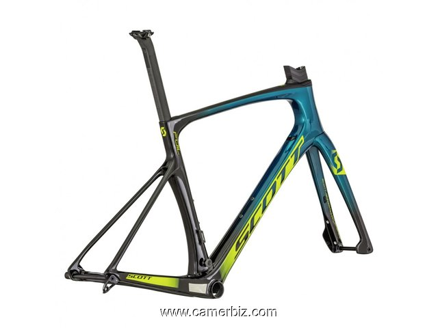 2019 Scott Foil Premium Team Edition Disc Frameset - (Fastracycles) - 7775