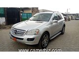6,500,000FCFA MERCEDES ML320 4MATIC-VERSION 2008-OCCASION EN OR!