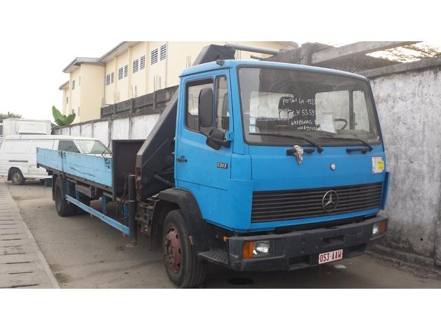 11 900 000fcfa camion yap mercedes 1317 a 6roues occasion d allemagne arrivage camion douala. Black Bedroom Furniture Sets. Home Design Ideas